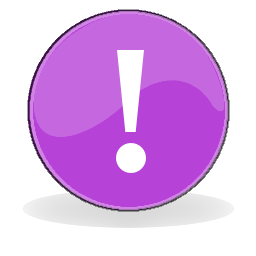 Notice icon attention purple.png
